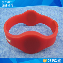 new style waterproof silicone rfid wristbands events for swimming