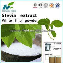 Steviosin 95% a base de hierbas saludable sustituto del azúcar de stevia( steviosido, rebaudiosidos un)