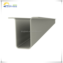 hot dip galvanized steel solar ground mounting single column