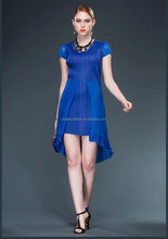 New arrival o neck short sleeve fashion casual dress for women