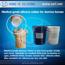 silicone sex dolls, Food grade liquid silicone rubber for female body
