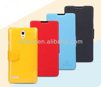For Huawei Ascend G700 NILLKIN Fresh Phone Leather Case