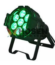 High quality ! 15W 7pcs led par light 5in1 led par 64, DJ Bar Equipment par light can