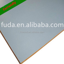 Prata / cinza melamina MDF 18 mm x 8 ' x 4 ' cinza claro melamina MDF
