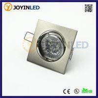 mr16 gu10 led spot light Satin Nickel color zinc alloy suspended ceiling light fittings