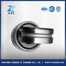 Hot selling pr6.0 125x82x15mm tungsten carbide rolls for forming smooth steel wires with high quality