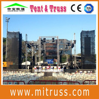 stage roof truss systems
