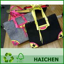 Popular OEM Design Numeral nepal craft felt bags