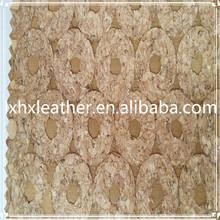 Pu cuir de liège mur papier belle, Papier peint pour décoration murale DH442