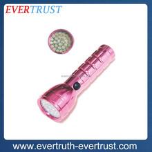 promotional top quality aluminum flashlight led