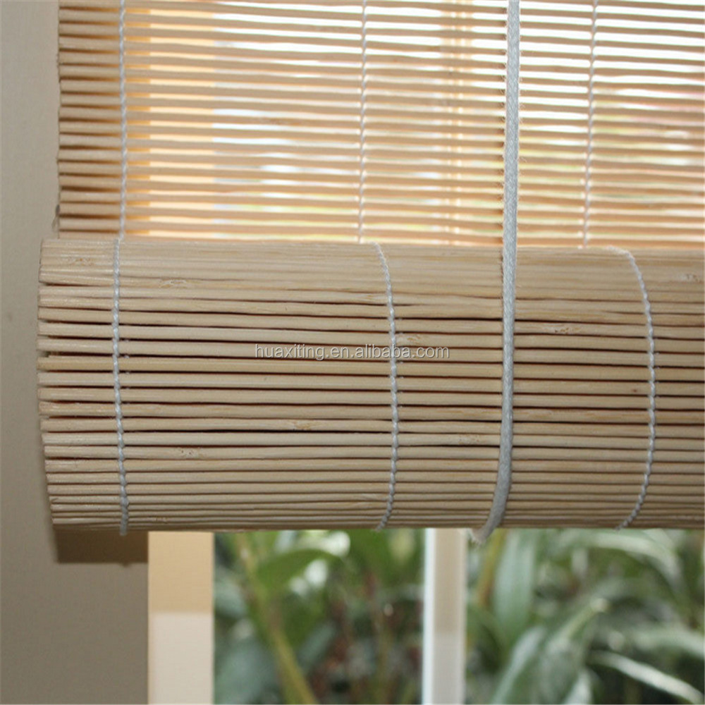 Bamboo Matchstick Window Roll Up Blind Shade Match Stick Buy Outdoor Bamboo