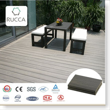 Foshan Ruccawood WPC/Wood Plastic Composite Outdoor Wooden Composite Decking for Garden Decoration 140*25mm