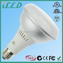 Full Spectrum 5000K 900lm 120 Volt LED COB E27 9 Watt Dimmable LED BR30 Light Bulb