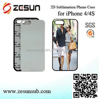 good prices 2D custom design cell phone case for iPhone 4/4s case
