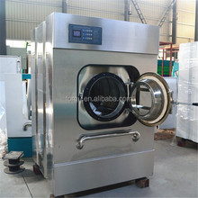 FORQU full-automatic stainless steel laundry washing machine used industrial