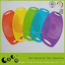 2015 new design Silicone mat/Picnic Basket/wine mesh bag YT-M071