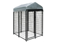 Customized large dog cage portable dog kennels outdoor dog running fence