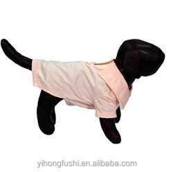 Pink Polo Dog Shirt, dog harness dress, clothing for dog