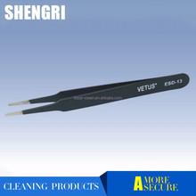High Temperature Resistance ESD Series Stainless Steel Vetus Tweezer
