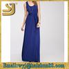 Luxury sexy one-piece sleeveless ladies latest design maxi dresses
