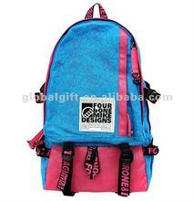 fashion ladies blue backpack 2012