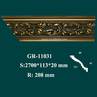 new arrival item house interior decorative PU crown moulding inside corner