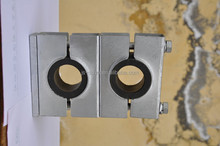 anti--vibration steel tube clamps with rubber ring