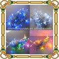 La decoración de navidad la luz, navidad de luz led de cadena