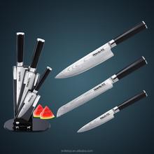 Di alta qualità 3 pezzi 67 strati giapponese vg10 acciaio damasco coltello da cucina set/vendita coltello