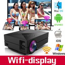 2015 new design wifi 3D 1800lumens1080P HD AV HDMI USB Digital Home Theater LCD LED Mini Projector proyector beamer