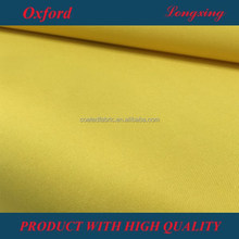210D oxford PU coated waterproof, fire retardant for bags