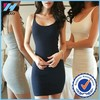 Yihao 2015 Summer New Sexy A Line Elastic Tight Pencil Mini Bodycon Bottoming Dress Women Clothing Plus Size Trade Assurance