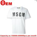 Guangzhou venta caliente nuevo diseño t camisa, cuello redondo con la impresión de los hombres de rock t- shirt
