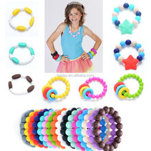 100% Silicone DIY Loose Beads For Jewelry Bracelet