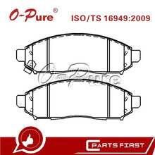 O-Pure Brake Pads 41060-EA025 Car Chasis Parts Supplier for Nissan Navara D40 Frontier