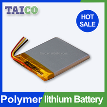 Rechargeable Flat Lipo Battery 3.7v 1200mAh for LED Light