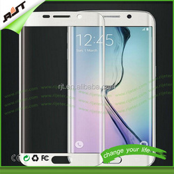 Free sample high transparency silicone screen protector for Samsung Galaxy S6 Edge