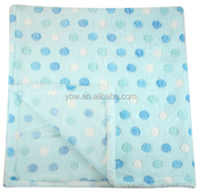Blue Dot Print Elegant Bedspreads, Import Textile Home, Cheap Bed Sheets