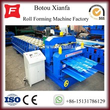 Automatic Aluminium And Galvanzied Double Roofing Tiles Roll Forming Machine