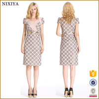 Wholesale Manufacturer China Bodycon Dresses Knee Length