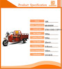 light and handy three wheel disabled vehicle with durable motor