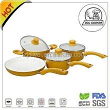 Chinese premium aluminum non caking cookware set