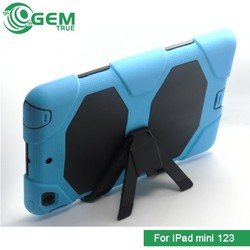Hybrid Heavy Duty Shockproof Case Cover Stand for iPad 123