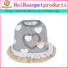 Angel style wholesale dog dress lovely autumn dog dress