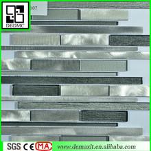 ew trend glass mosaic tiles mix metal mosaic tiles Interior decoration L107
