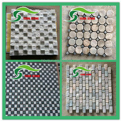 Cheap 50mm*50mm colored mosaic for swimming pool tile