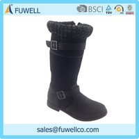 Warm and durable kids long boots