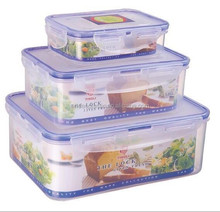 BPA Free plastic takeaway food container in set