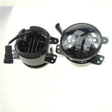 Auto parts round dragon type 4 inch led fog lamp