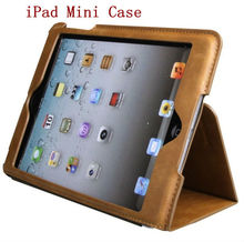 New arrival!! for ipad mini touch screen leather case cover (Shenzhen factory and Paypal acceptable)